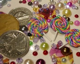 Lollipop Charm/Zipper Pull