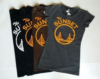 The Sunset Womens Tee