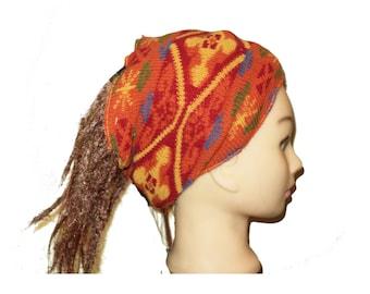 Last one: Colorful headband bohemian warm dreadlocks tube