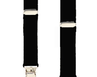 """DOLL & TEDDY BEAR Suspenders  - 5 Solid Colors - 10"""" Length Fits up to 14"""" or 18"""" Tall Toys"""