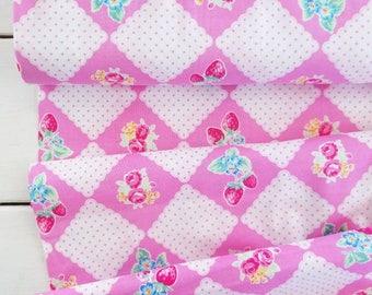 Flower Sugar Berry - Picnic(Pink) - Lecien - Japan, Inc