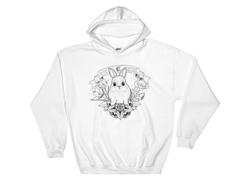 """Hoodie """"WHITE COLLECTION"""""""
