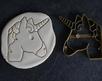 Unicorn cookie cutter - Unicorn Head Cookie Cutter - Fairy Cookie cutter - Unicorn - Gift for friend - Unicorn gift