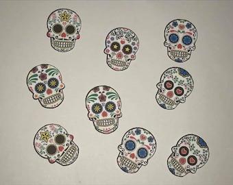 Day Of The Dead Sugar Skull Confetti (50 Count)