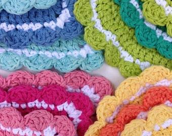 20 Hot Pad Crochet Patterns PDF