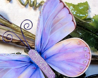 Butterfly Embellishments Lavender Daydreams