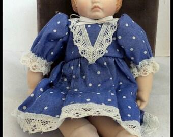 Vintage Artist Doll Porcelain