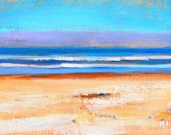 Coronado Beach Landscape Painting Original Oil