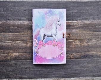 Unicorn Travelers Notebook Insert - Midori Insert - TN Insert - Scrapbooking Insert - Planning Insert - Art Journaling Insert - Various Size