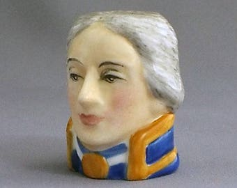 Francesca Character Head Thimble - Lord Nelson