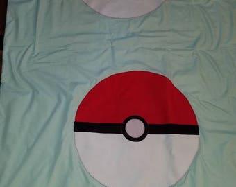 Pokemon lap quilt handmade