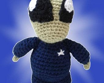 Amigurumi Halloween Alien Alistair  pattern