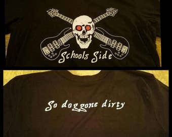 Schools Side Widespread Panic Short Sleeve Tee Lot Shirt