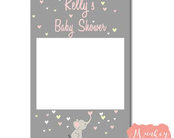 Free Shipping - Baby Shower Photo Booth Frame, Baby Shower Frame, Baby Shower Instagram Frame, Photo Booth Prop baby Shower