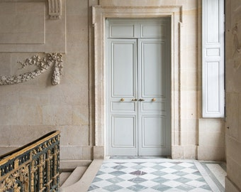 Paris Photography - Versailles, Door at Le Petit Trianon, France Travel Photography, French Home Decor, Large Wall Art
