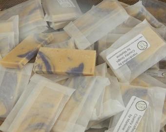 35 Lavender Luxury Goats Milk Soap Favors for weddings showers parties