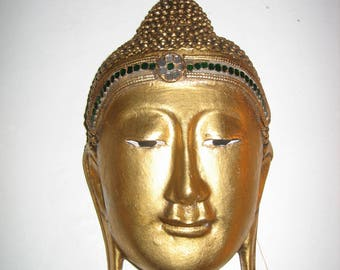 Good Quality Buddha Mask from Thailand
