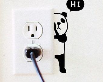 7 Light Switch Sticker / Wall Decal Sticker