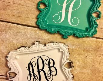 Personalized Ring dish / ring holder /Custom ring dish / bridesmaid gift / birthday gift / monogram ring dish / wedding gift