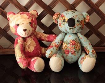 Stuffed Teddy Bear & Koala sewing pattern softie stuffed animal toy