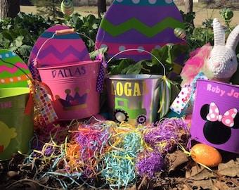 Easter bucket (customized)