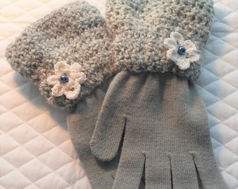Crochet Top Driving Gloves