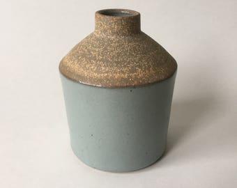 Light gray bud vase #9