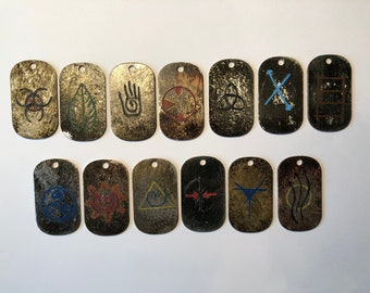 The 100 Clan Conclave Dog Tags