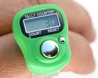 Stitch Marker/Row Finger Counter/LCD Electronic Digital Tally Counter