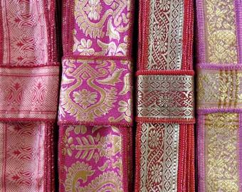 Vintage Sari borders, Sari Trim SR586