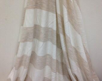 2 yards Jersey knit/off white jersey knit/scarf knit fabric/knit fabric/stretchy fabric/soft stretchy knit fabric - K5