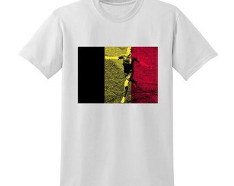 Russia World Cup 2018 Graphic Tshirt BELGIUM Flag Football Team Soccer Country