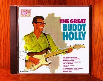 Buddy Holly – The Great Buddy Holly  - Vintage CD