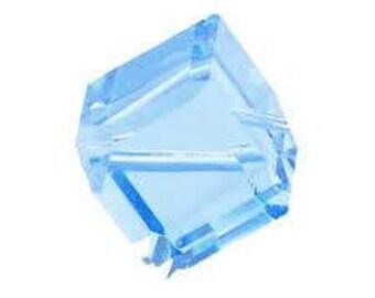 5600 Swarovski Crystal Cube, 6mm Swarovski Diagonal Cubes, Vintage Swarovski Diagonal Cubes 2/6/12/36 Pieces (6 colours)