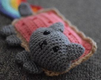 """Crochet """"Nyan Cat"""" Inspired Plush"""