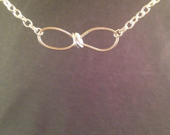 Infinity Wire Necklace