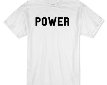 Power You Would Not Want To Know Men's White T-shirt
