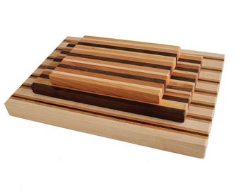 Woodworker's Classic American Hardwood Butcher Block Cutting Board
