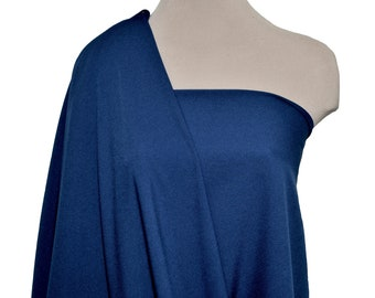 """Stretch Crepe Jersey Royal  1 yard 58"""" wide dresses, suits, pants jackets"""