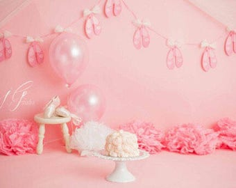 Ballerina Slipper Banner, Ballet, dancer, shoes, birthday , party, photo , cake smash, photography, sign, dancer banner, kids room decor,