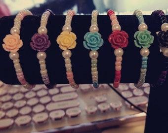 Rose Handmade Bracelet