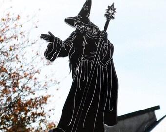 Wizard with Staff Acrylic Mirror