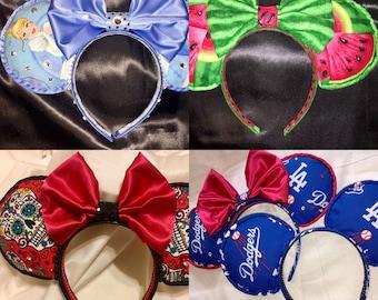 Custom Ears Order
