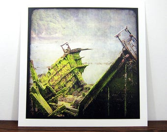 Boat #11 - Brittany - expo 30x30cm print - signed and numbered