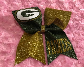 Green Bay Packers Cheer Bow