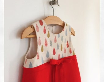 SAMPLE SALE   iris   modern girl dress   size three