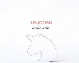ORIGINAL Unicorn Cookie Cutter, Reversible Unicorn Face, Custom Cookie Cutters, Cookies, Fairytale, Magic, Emoji