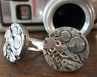 Vintage Everite Watch Movement Cufflinks
