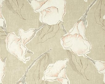 Calla Driftwood, Magnolia Home Fashions - Cotton Upholstery Fabric By The Yard