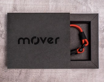 Premium packaging for Mover bracelets